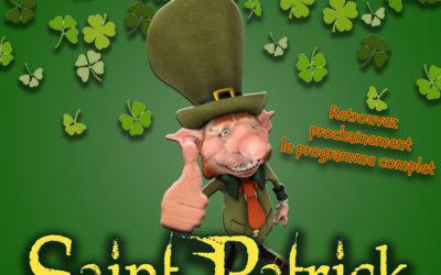 Saint-Patrick le 16 mars