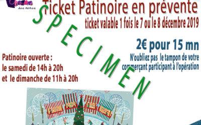 Village St – Nicolas 7 et 8 décembre : prévente des tickets patinoire