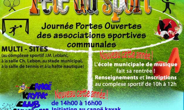 Fête du Sport : Portes-Ouvertes des associations sportives de Landrecies
