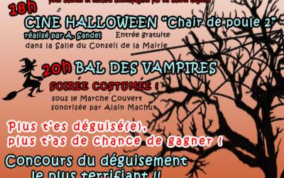 Soirée Halloween 2 novembre