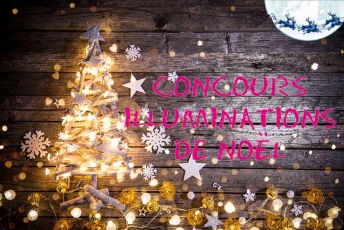 Concours des Illuminations de Noël (inscriptions jusqu'au 14 décembre)