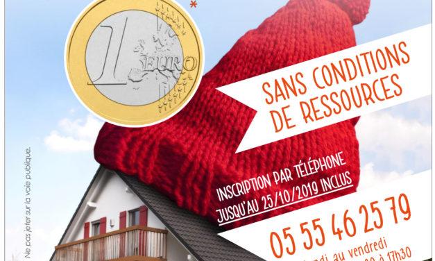 Opération Réduc'Isol : sans condition de ressources jusqu'au 25 octobre
