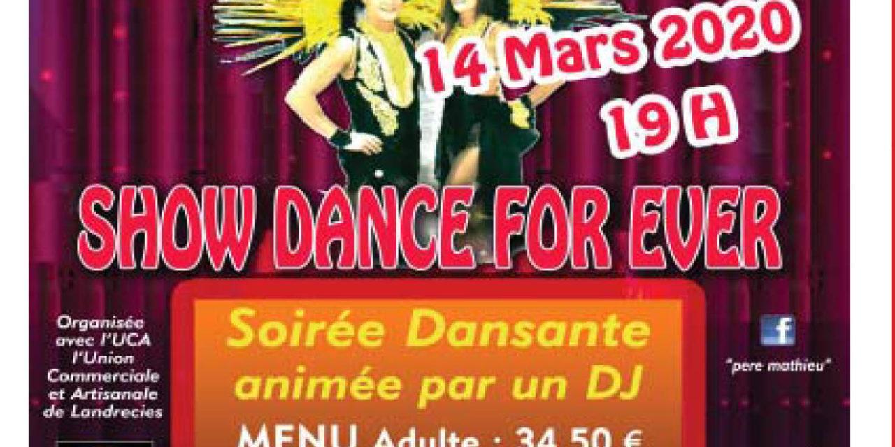 Soirée Cabaret organisée par l'U.C.A Landrecies Dynamic
