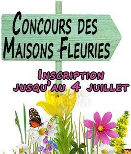 Concours des Maisons Fleuries : inscriptions ouvertes jusqu'au 4 juillet