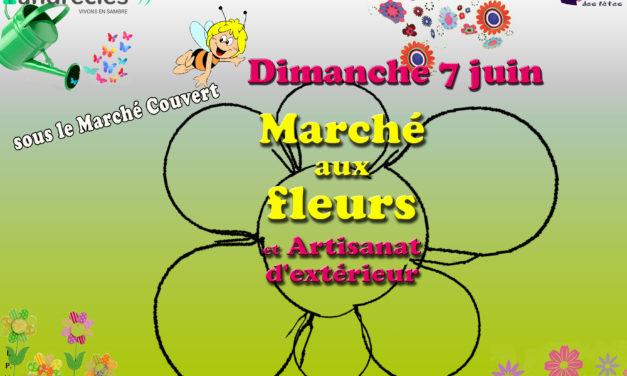 Marché aux Fleurs : dimanche 7 juin de 8h à 13h sous le marché couvert